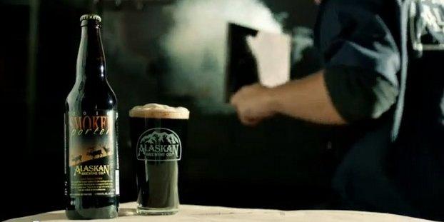 Alaskan smoked porter: bella scoperta!