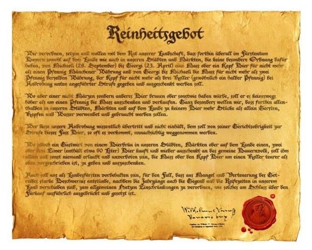 Reinheitsgebot, la traduzione più fedele!