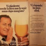 Gli indimenticabili spot della birra con Renzo Arbore